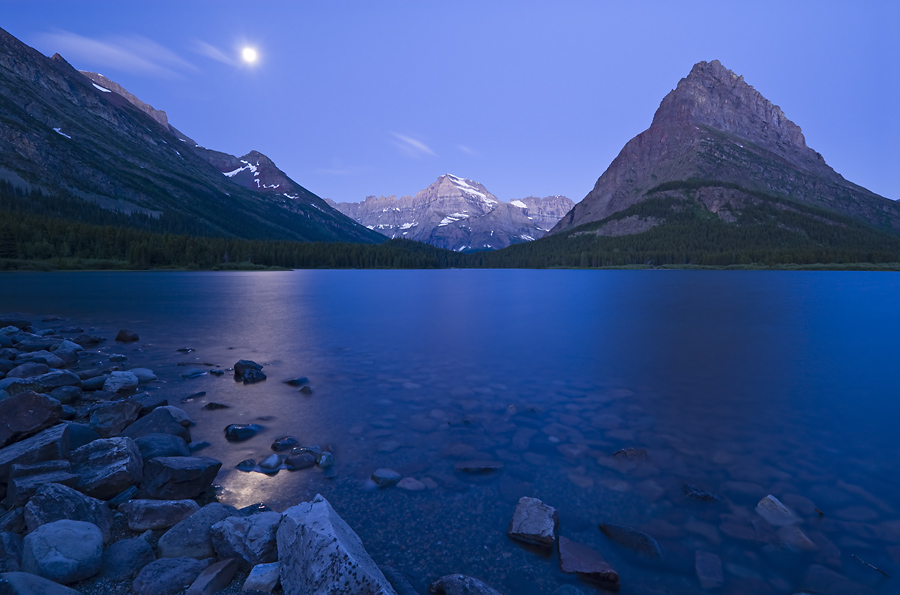 Glacier by Moonlight