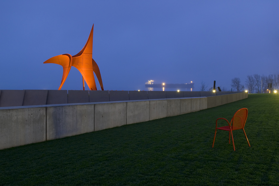 Sculpture Park at Dawn