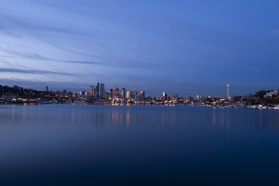 Seattle From Lake Union