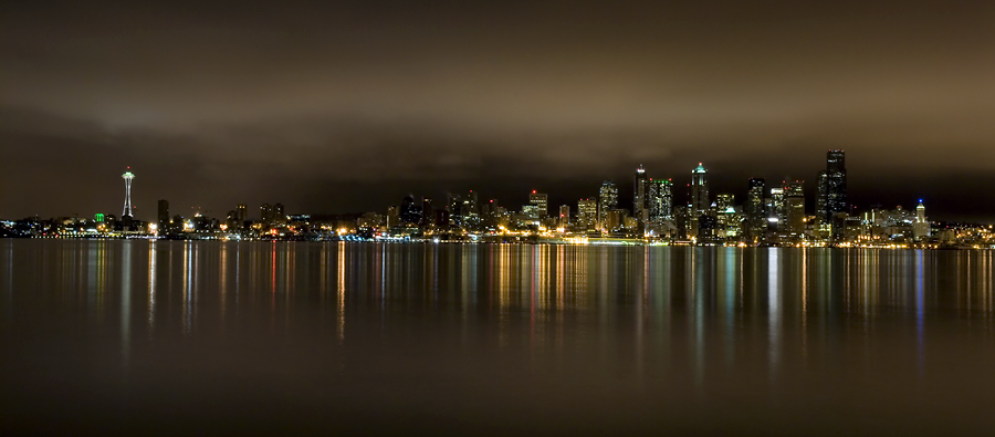 Seattle From Alki