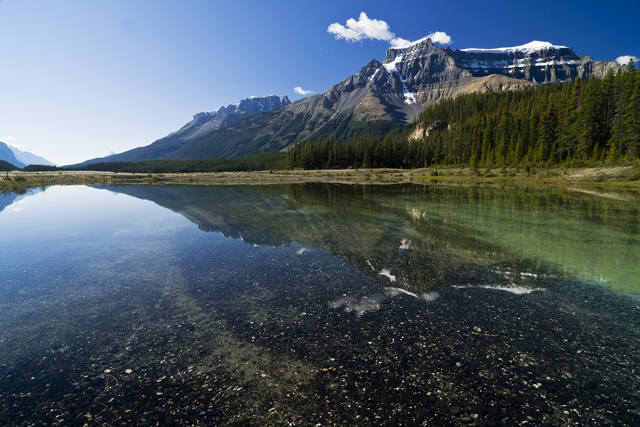 Reflection Over Banff