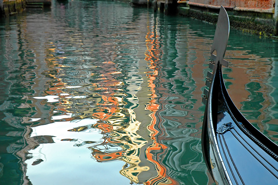 Gondola Reflection