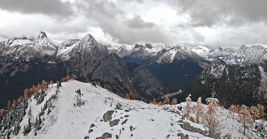 North Cascades in Winter